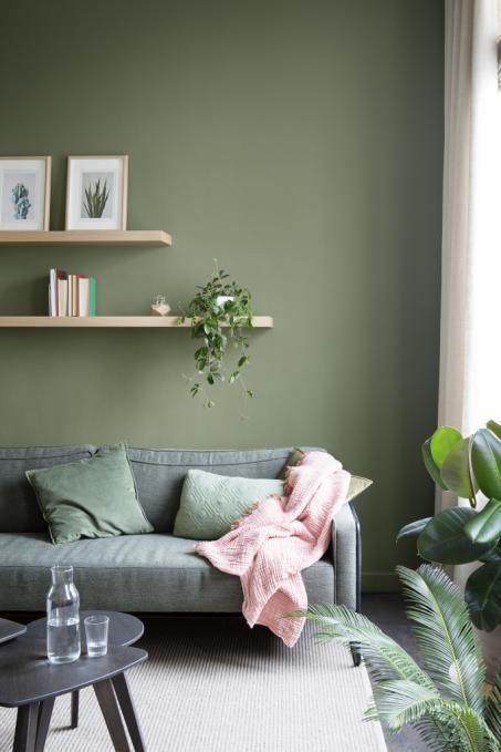 Groene muurverf