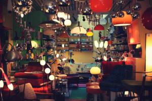 Vintage woonkamer verlichting ideeen